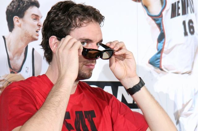 Canal+ y Pau Gasol presentan el Barcelona-Lakers en 3D