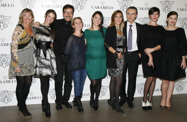 La firma gallega «Caramelo», presenta su nueva colección en la ciudad condal