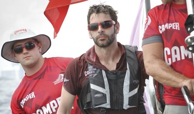 Eduardo Noriega en la Volvo Ocean Race de Miami