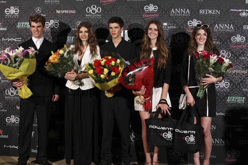 Elite Model look celebra la final con la presencia de la top model Xenia Tchoumitcheva
