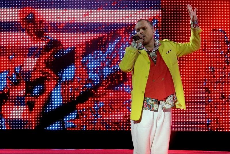 Arranque triunfal de Miguel Bosé con su gira Papitwo en Starlite Festival