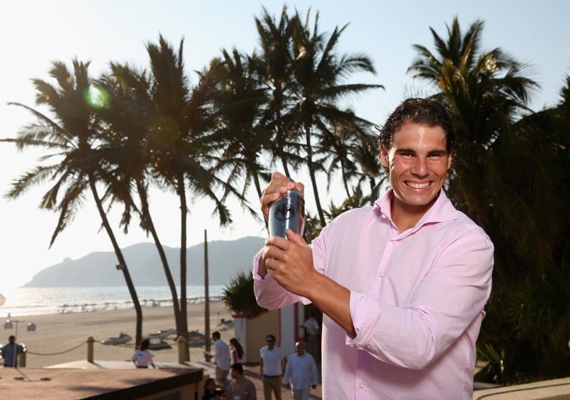 """Rafael Nadal promueve en México la campaña """"Champions Drink Responsibly"""""""