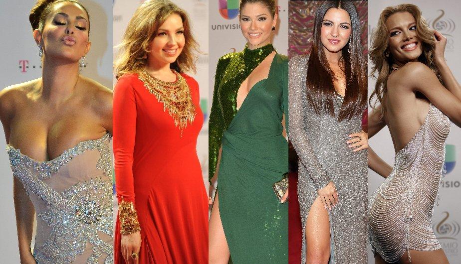 La sensacional alfombra roja de Premios Lo Nuestro 2013