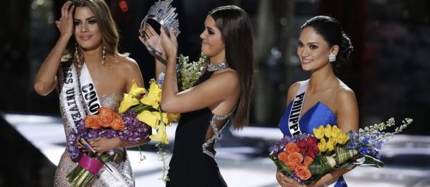 El peor error en Miss Universo, Miss Colombia fue coronada durante tres minutos