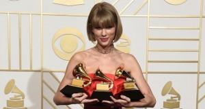 Taylor Swift y Kendrick Lamar los triunfadores de los premios Grammy 2016