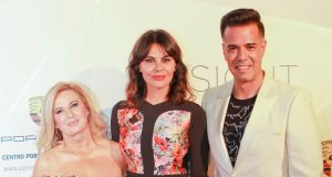 Maria José Suarez y la Top Alejandra Alonso en la inauguración de SHOWROOM FASHION BAR‏