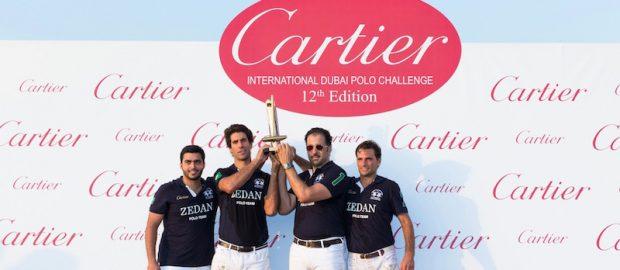 Zedan Polo gana la 12ª edición de la Cartier Internacional  Dubai Polo Challenge