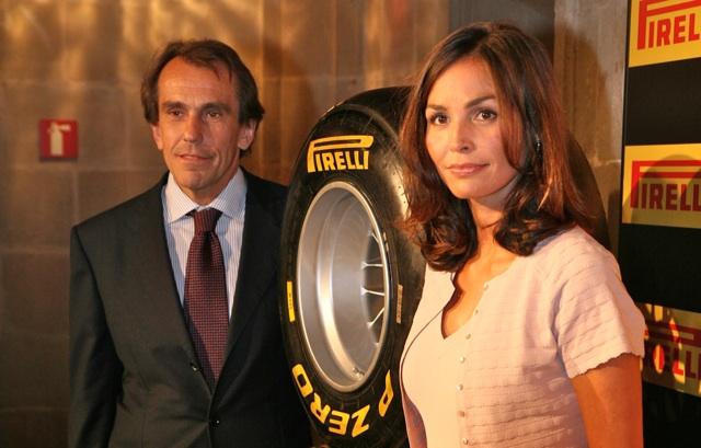 Inés Sastre regresa a Barcelona como madrina de la fiesta Pirelli
