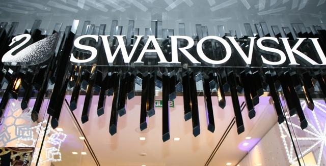 Marta Sánchez madrina de lujo de la nueva tienda de Swarovski en la ciudad Condal