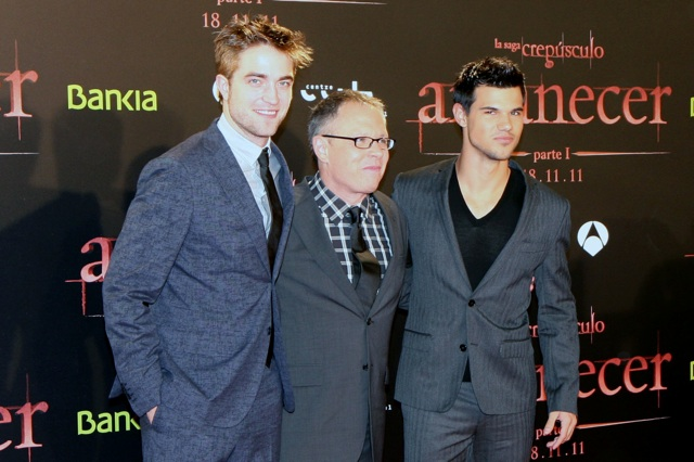 Robert Pattison y Taylor Lautner presentan «Amanecer 1» en Barcelona