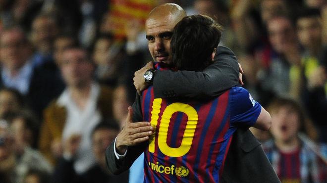 Guardiola se despide emocionado», A mi no me perderéis nunca